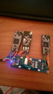 WiFi dongles soldered